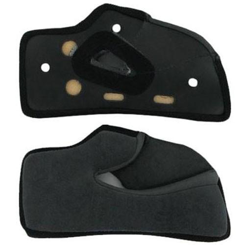 AGV K4 Replacement Cheek Pads Black