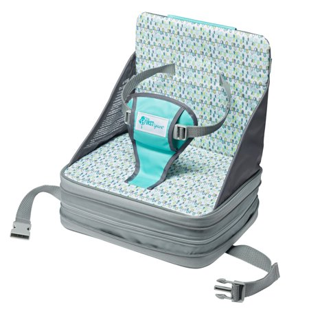 The First Years On-the-Go Booster Seat, Inflatable Travel Feeding Booster Baby Seat Go Booster Feeding Seat