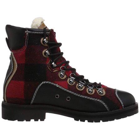 da22e173a Tommy Hilfiger Womens Tonny2 Fabric Cap Toe Ankle Combat Boots - image 1 of  2 ...