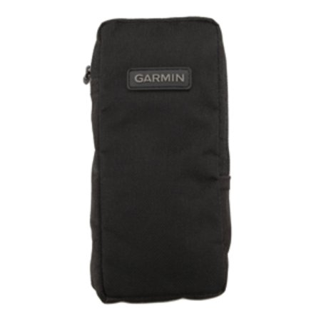 """8"""" Matte Black GPS Nylon Carrying Case with Zipper and Fits Most Handhelds thumbnail"""