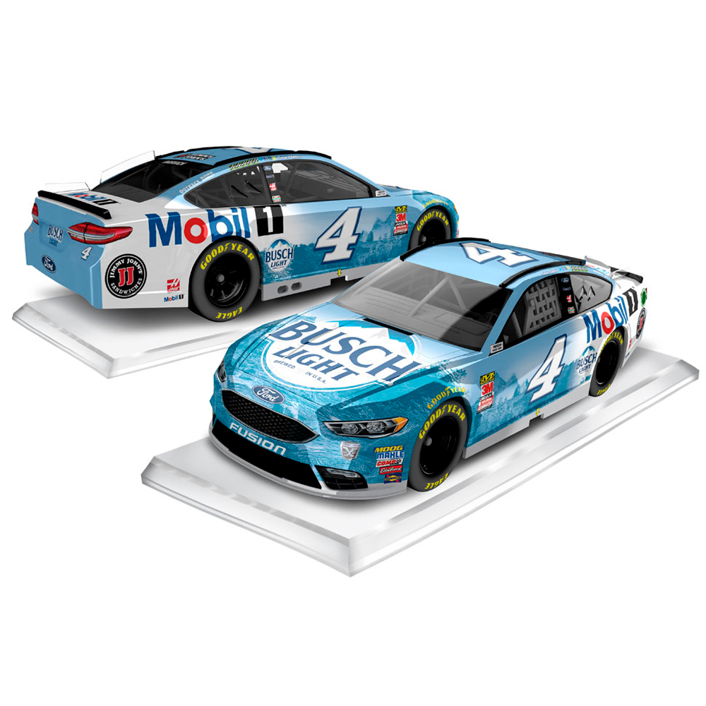 Kevin Harvick Action Racing 2018 #4 Busch Light/Mobil 1 1:64 Regular Paint Die-Cast Ford Fusion - No Size