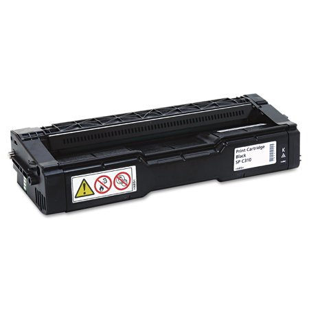 Ricoh 406475 High-Yield Toner, 6000 Page-Yield, Black