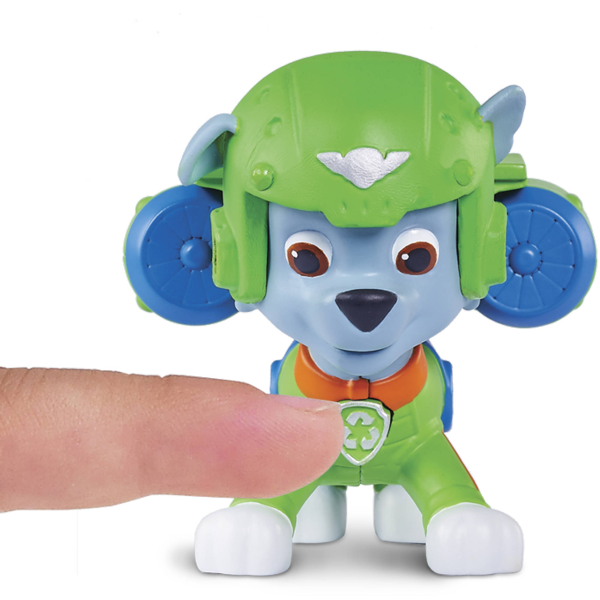 Paw Patrol Air Rescue Rocky, Pup Pack And Badge   Walmart.com