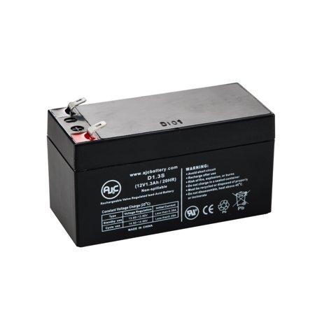 Emergi-Lite 12V1 12V 1.3Ah Emergency Light Battery - This is an AJC Brand Replacement