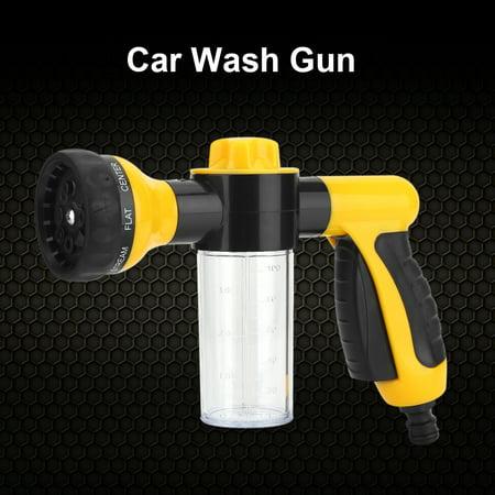 Car Wash Gun, Car Washer,High Pressure Spray Car Wash Foam Water Gun Cleaning Tool Washer 6m