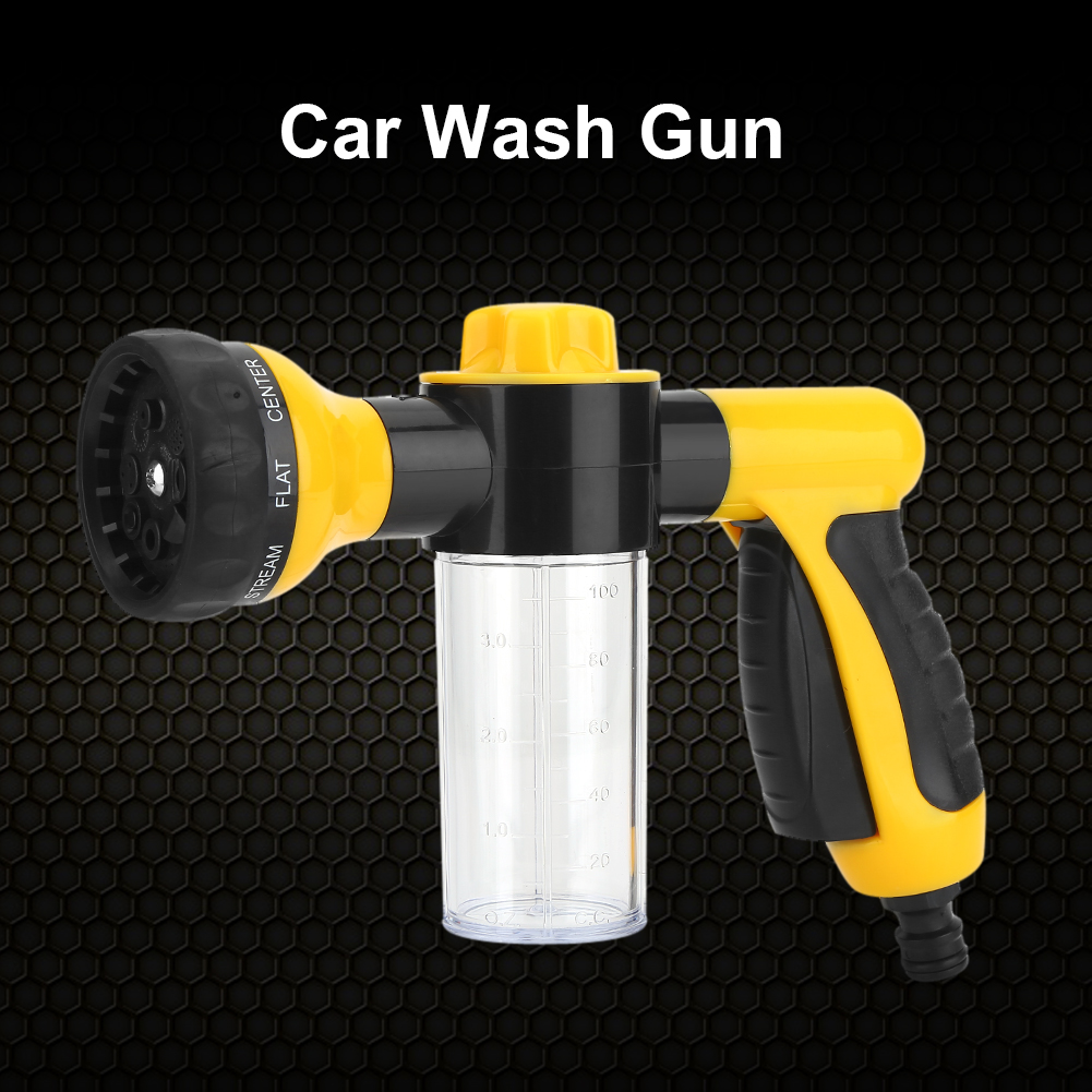 Car Wash Gun, Car Washer,High Pressure Spray Car Wash Foam Water Gun Cleaning Tool Washer 6m