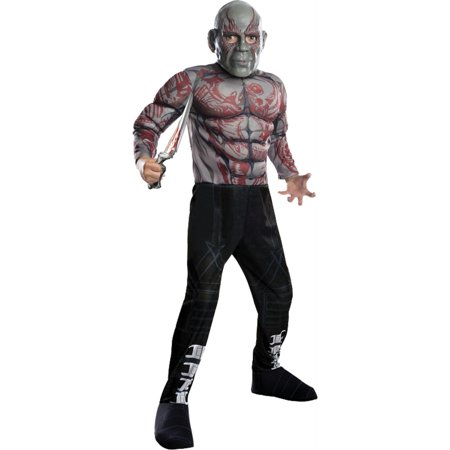 Rubies Guardians Of The Galaxy Deluxe Drax The Destroyer Costume, Child Small - image 1 de 1
