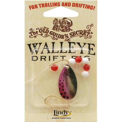 Lindy Old Guide's Secret Drift Rigs, 2-Hook, Trout