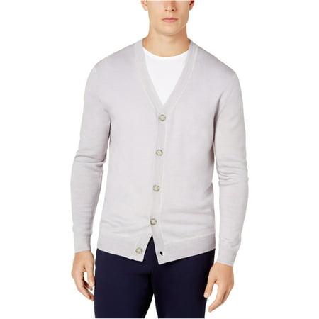 Club Room Mens Wool Knit Cardigan Sweater Knit Wool Blend Sweater