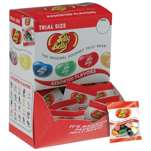 Jelly Belly Assorted Flavors Jelly Beans, 0.35 oz, 300 count