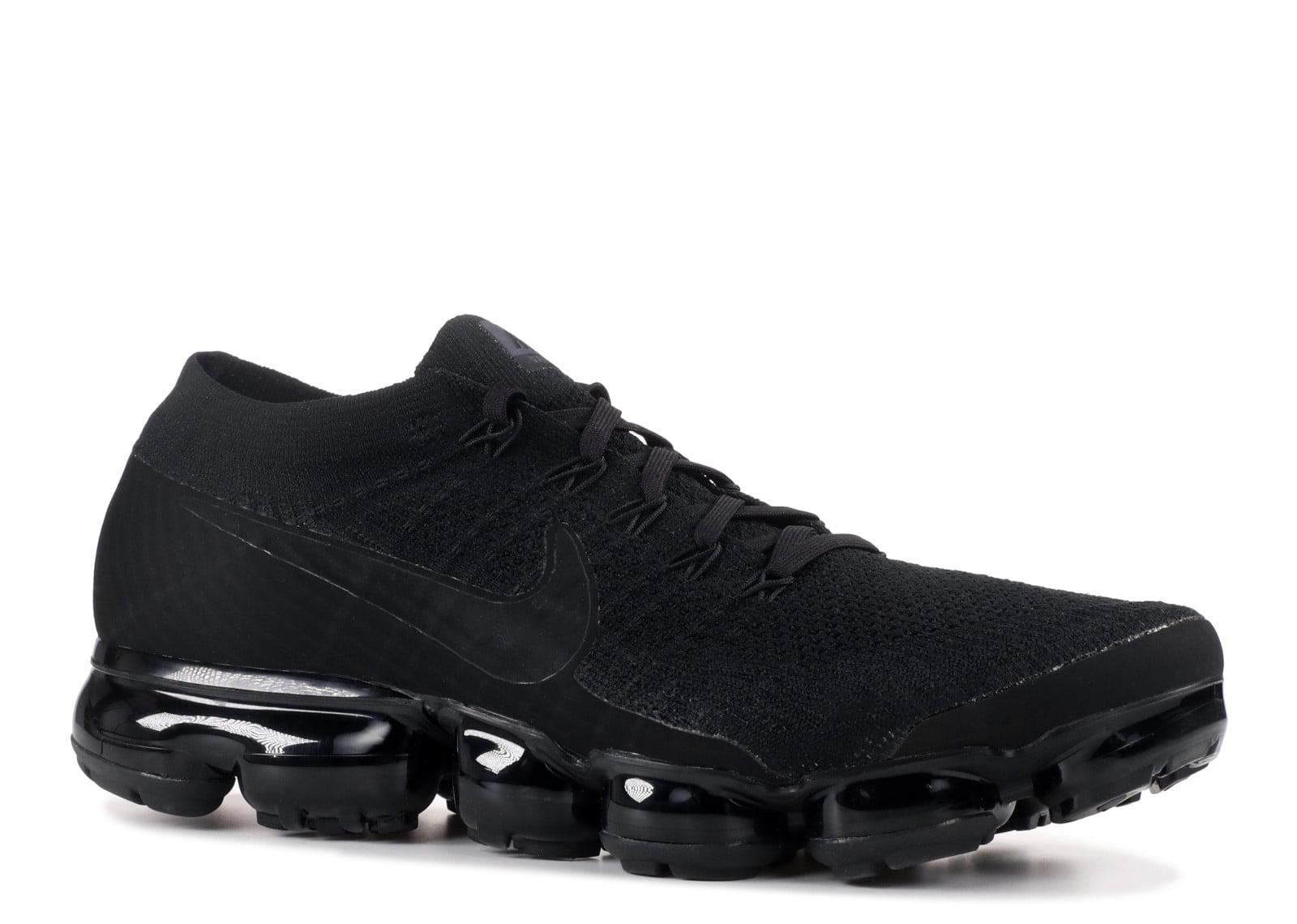 Nike Air Vapormax Flyknit 'Triple Black' - 849558-011 - Size 11