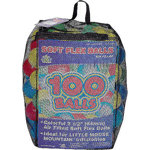 100 Balls in a Mesh Net Bag