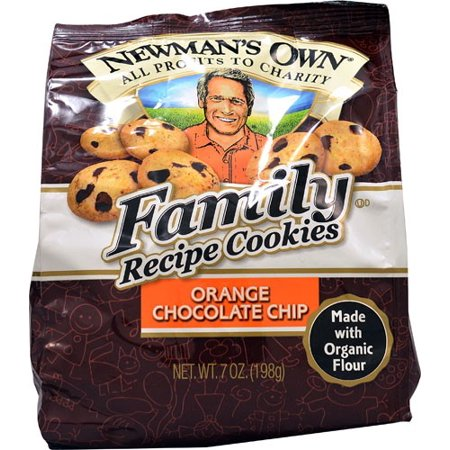 Halloween Recipes Finger Cookies ((3 Pack) 6 Pack : Newman's Own Organics Family Recipe Cookies Orange Chocolate Chip -- 7)