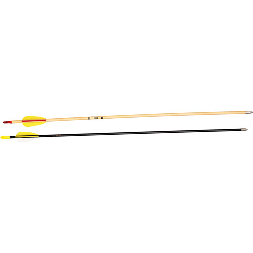 "Bear Archery 26"" Safetyglass Vaned Arrows - 1/2 Gross Box"