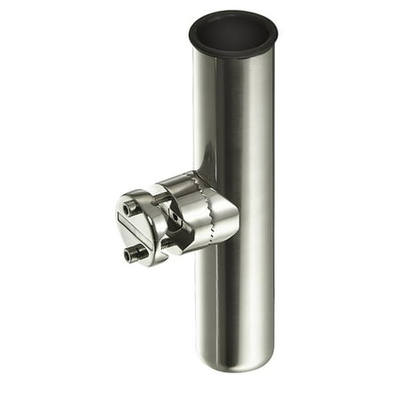 Stainless Rod Holder (Clamp-On Rod Holder, Stainless Steel)