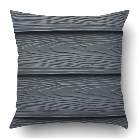 ARTJIA Beautiful Wood Plank Cement Striped Blue Or Navy Board Pillowcase Pillow Cushion Cover 16x16 inch