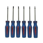 6pc Star Screwdrivers Set SD Steel Magnetized Tools 65180