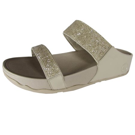 1dc673ba0bd Fitflop Womens Rock Chic Open Toe Slide Shoes - Walmart.com