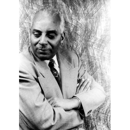 Noble Sissle  1889 1975  Namerican Jazz Composer And Bandleader Photographed By Carl Van Vechten 1951 Rolled Canvas Art     24 X 36