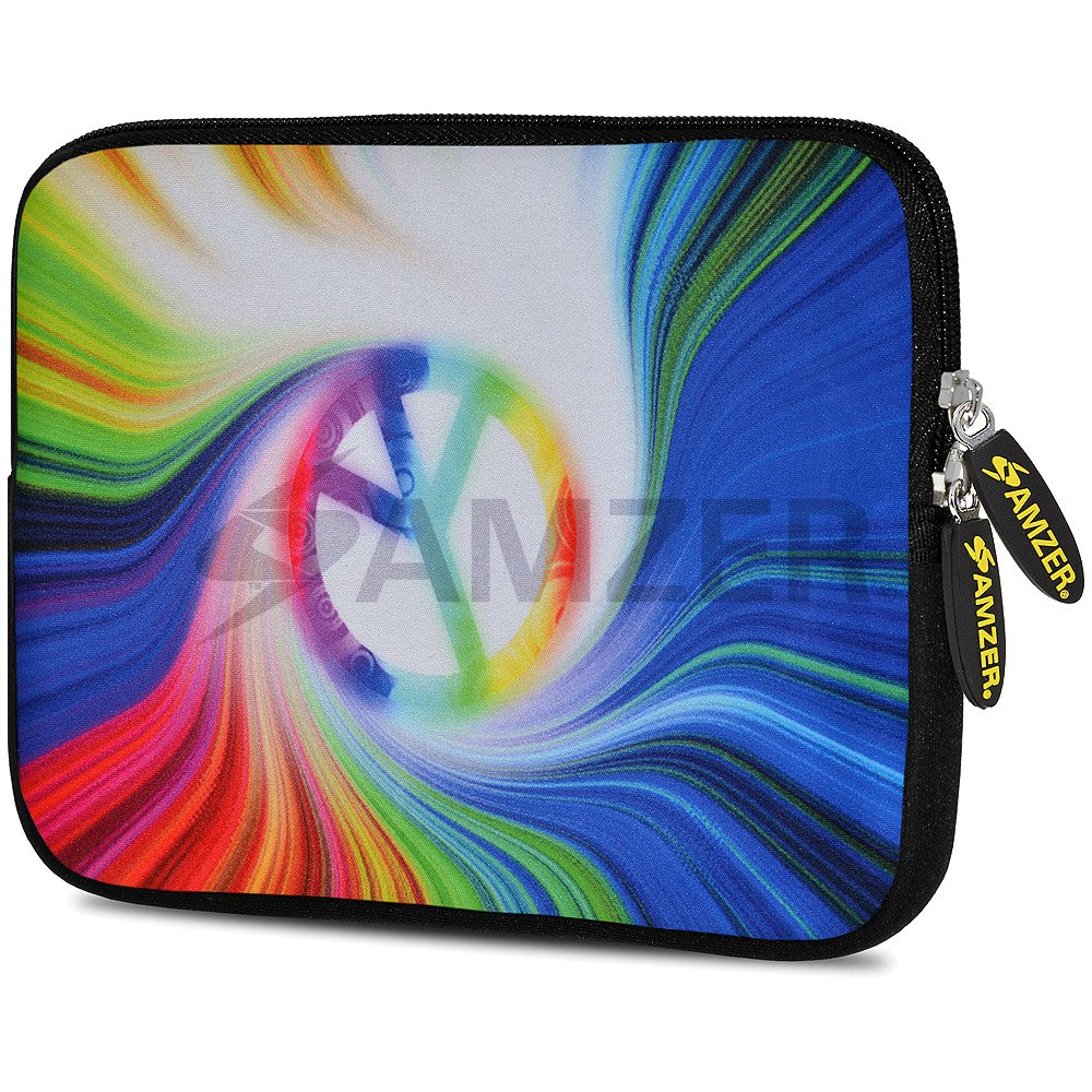 Amzer Football World Design Neoprene Soft Sleeve for Up to 10.5 inch Tablet