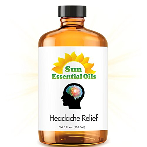Head Relief (Huge 8oz) Best Blend Essential Oil