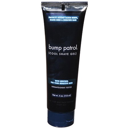 Bump Patrol Cool Shave Gel for Sensitive Skin, 4