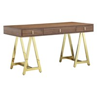 Pangea Home  Riley 55 in. Rectangle Desk