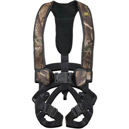 Hunter Safety Systems Alpha Camouflage Tree Hunting Safety Trim Harness,
