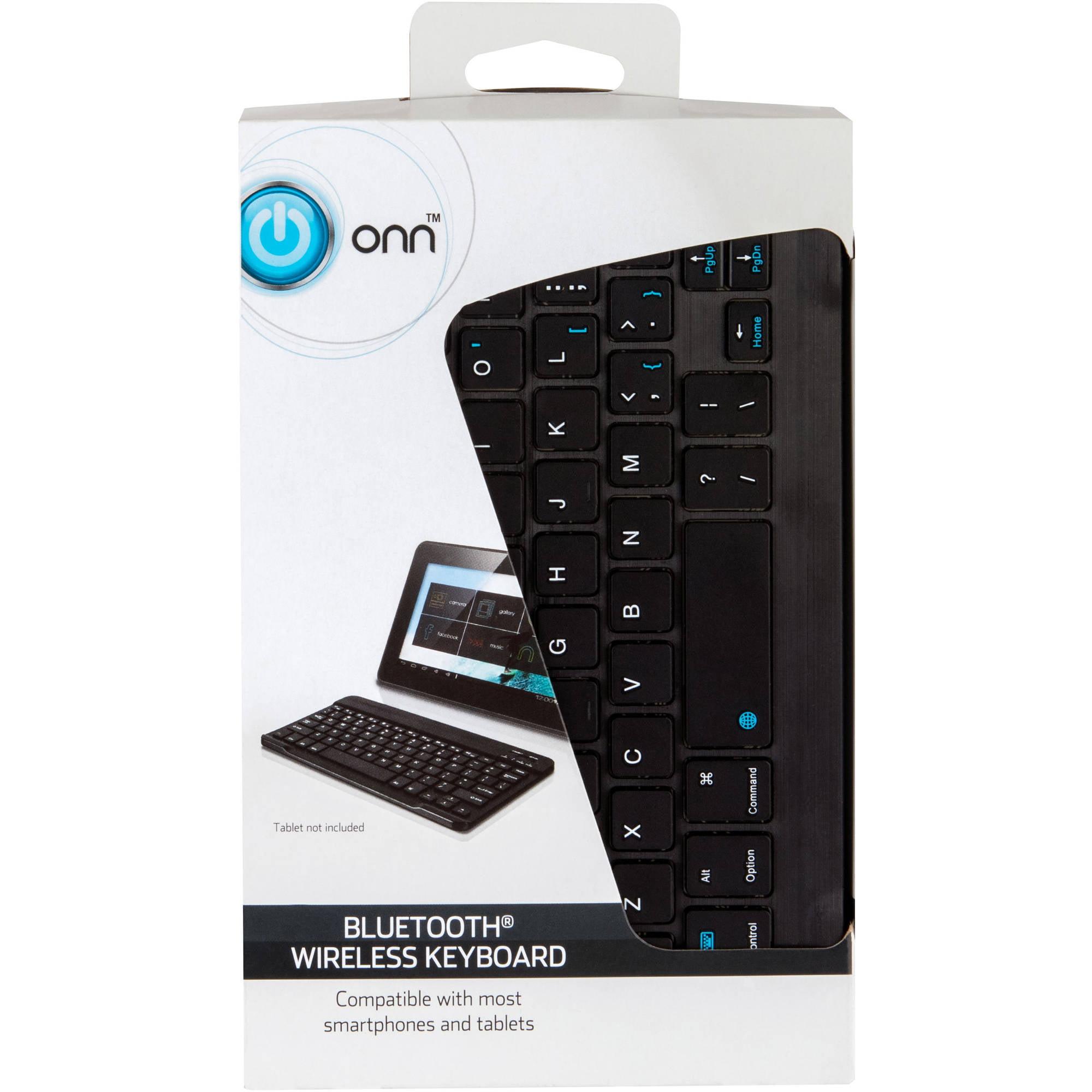 Onn Onb15ta201 Bluetooth Wireless Keyboard Walmart