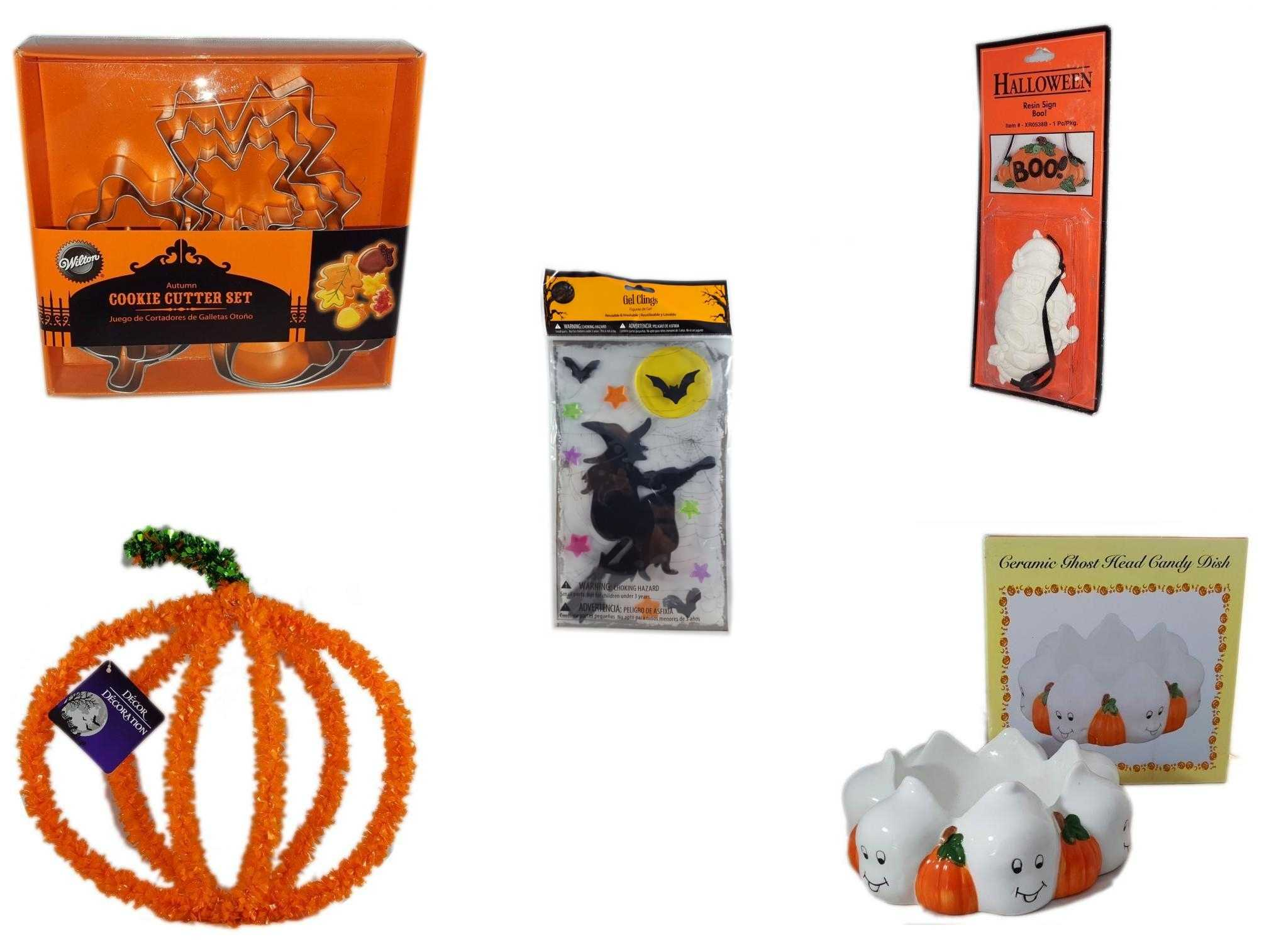 Halloween Gel Clings-Set of 5