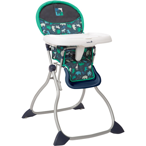 Safety1st Fast Pack High Chair, Animal Silhouettes