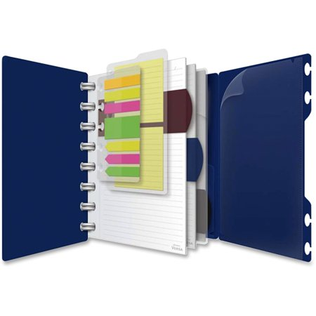 TOPS, TOP25635, Versa Crossover Ruled Spiral Notebook, 1 Each
