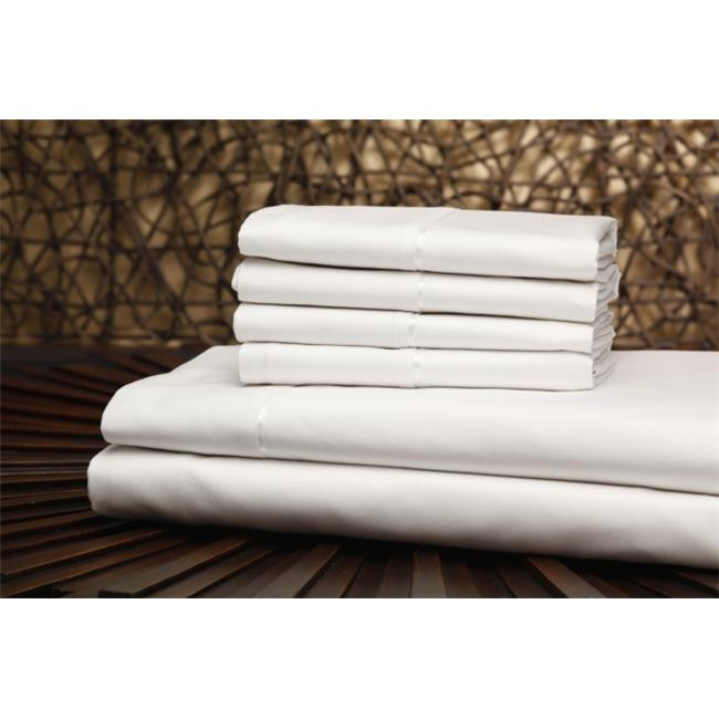 Leggett & Platt Consumer Products Group QH0432 T750 White Split King Size Sheet