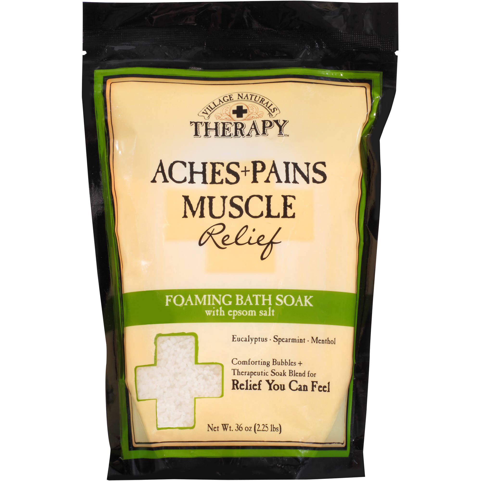 Village naturals therapy aches pains relief mineral bath soak village naturals therapy aches pains relief mineral bath soak 20 oz walmart negle Images