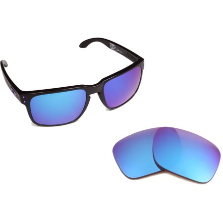 Replacement Lenses Compatible with OAKLEY Holbrook Polarized Ice Blue (Holbrook Blue)