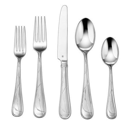 Cuisinart Elite™ Evires 20-Piece Stainless Steel Flatware