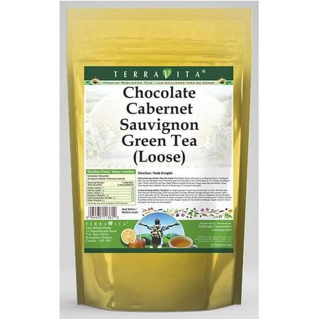 Chocolate Cabernet Sauvignon Green Tea (Loose) (8 oz, ZIN: - Maple Cabernet