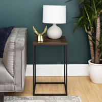 Urban Industrial Square End Table by Manor Park - Multiple Colors