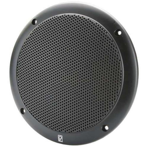 POLY-PLANAR MA4056-B Outdoor Speakers,Black,2-1/2in.D,40W,PR G0155760