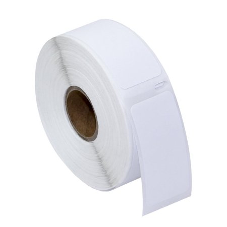 30336 Multi Purpose Labels (GREENCYCLE 1 Roll (500 Labels/Roll) Small White Multipurpose Label Compatible for Dymo 30336 1''(25mm) x 2-1/8''(54mm) LabelWriter Printer,BPA Free)