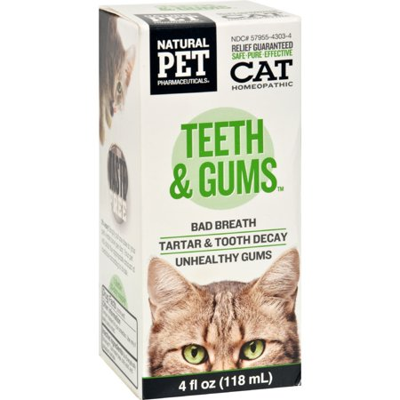 King Bio Homeopathic Natural Pet Cat   Teeth And Gums   4 Ounce