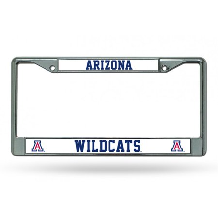Arizona Wildcats Chrome License Plate Frame - image 1 of 2