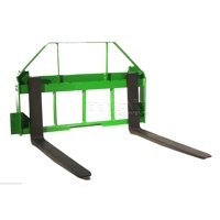 """48"""" Pallet Fork Attachment for John Deere Tractors, Fits 200, 300, 400, and 500"""