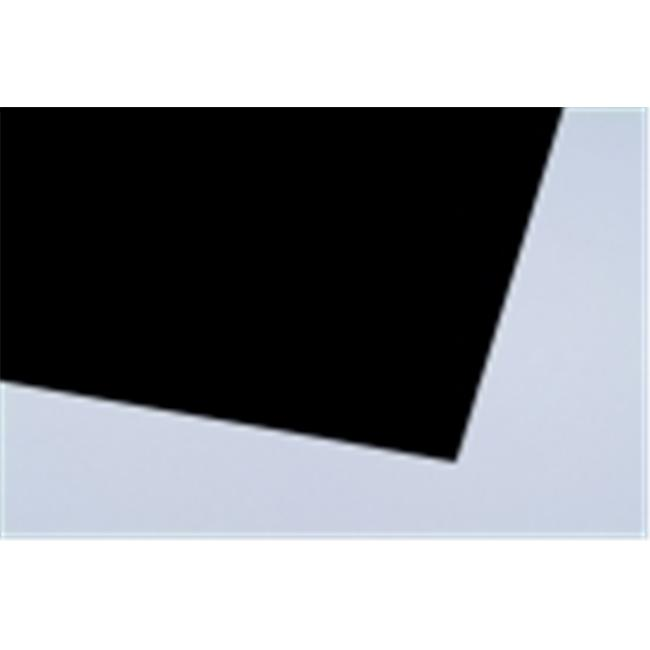 Crescent 22 x 28 in. Art Poster Board, 14-Ply Thickness, Black, Pack 10 by Crescent