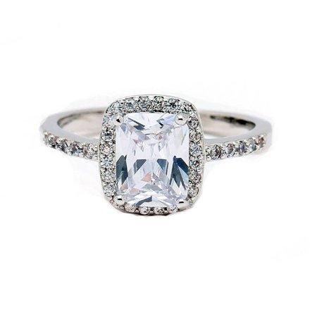 Moniqu CZ Engagement Wedding Bridal Ring