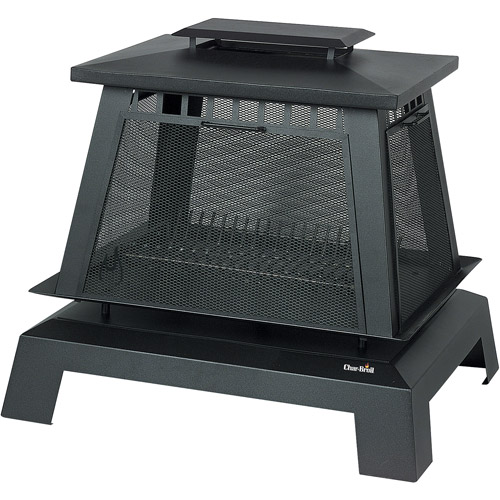Char-Broil Trentino Deluxe Fire Place, Black