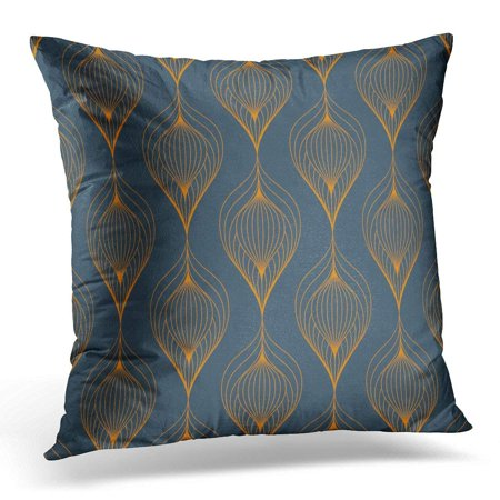 Stylized Linear Leaf (CMFUN Linear Leaves on Garland of Leaf Flower Floral with Gradient Changing Color Graphic Clean is Swatches Pillow Case Pillow Cover 18x18 inch )