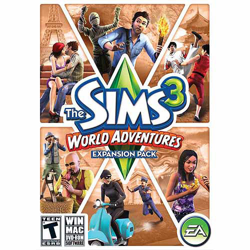 Sims 3 World Adventures Expansion Pack (PC/Mac) (Digital Code)