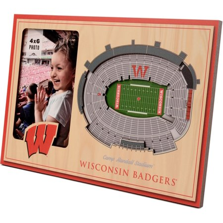 You the Fan Wisconsin Badgers 3D Picture Frame Fan Picture Frame