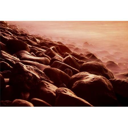 Posterazzi DPI1820642 Boulder Beach Tory Island County Donegal Ireland - Rocks On Beach Poster Print by Richard Cummins, 18 x 12 - image 1 de 1